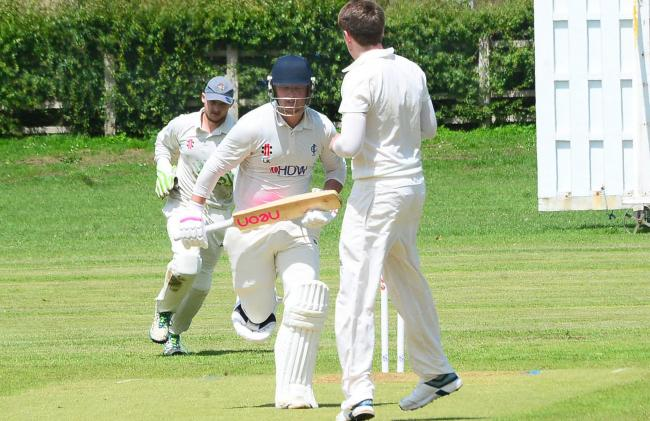 GOOD SCORE: Louis Kraucamp, who made 47 for Ilminster on Saturday.