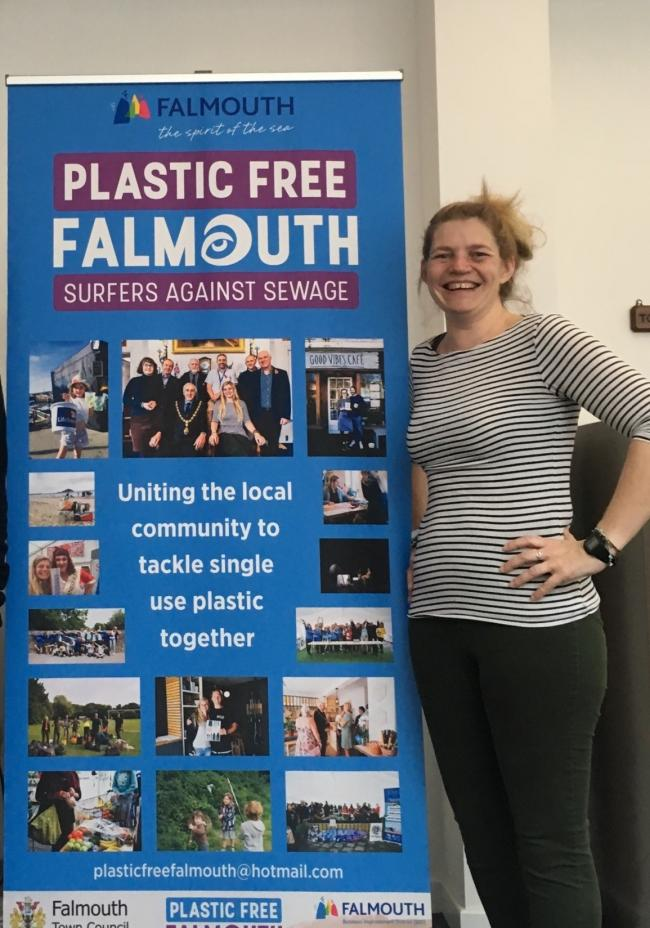 Kirstie Edwards, Plastic Free Falmouth Co-ordinator