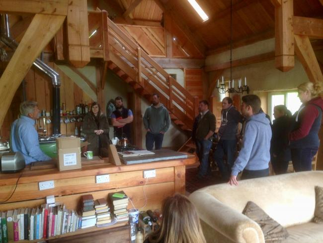 OPPORTUNITIES: Exmoor Young Voices members heard from experts about self-build homes
