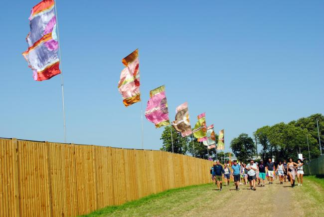 ENTRY: Punters make their way in to the 2019 Glastonbury Festival. PICTURE: Paul Jones