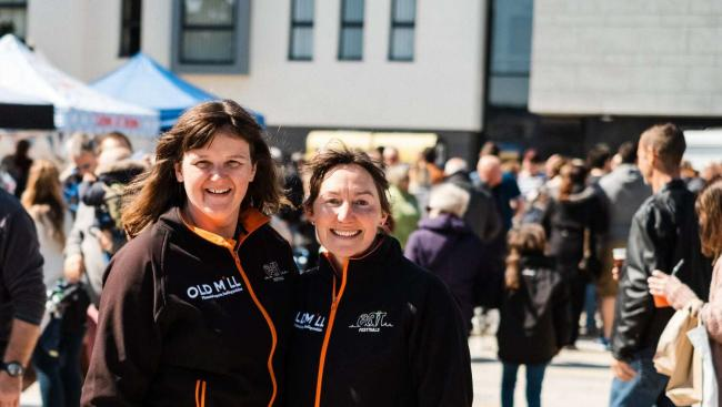 ORGANISERS: Bev and Sarah Milner-Simonds 					       Credit: OrbitPhotography