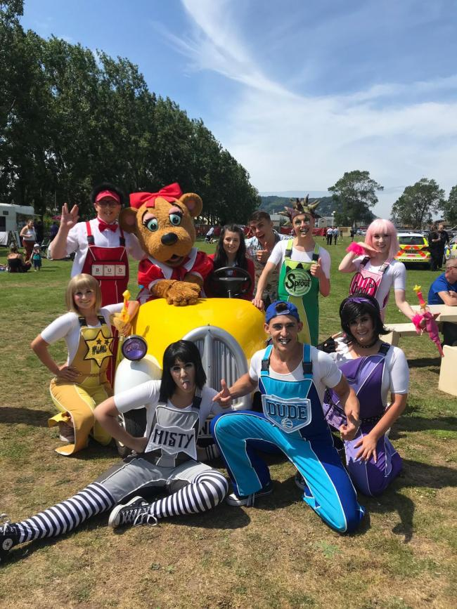 FUN DAY: The event was enjoyed by staff and their families - and raised money for charity