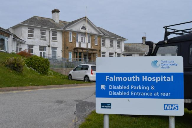 The minor injuries unit at Falmouth Hospital has been closed to new admissions today