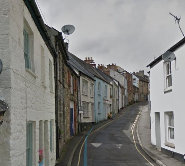 A general shot of St Thomas Street in Penryn, not location specific. Photo: Google