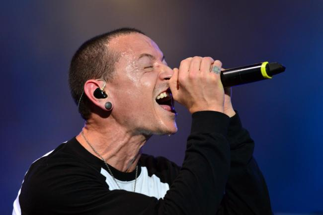 Chester Bennington of Linkin Park (Lewis Stickley/PA)