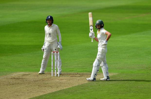 STAR: Ellyse Perry added 76 not out to her first innings century