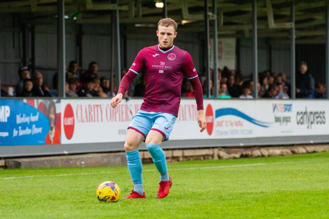 NEW CAMPAIGN: Ollie Chamberlain and Taunton Town are aiming for a winning start tomorrow. Pic: Ashley Harris