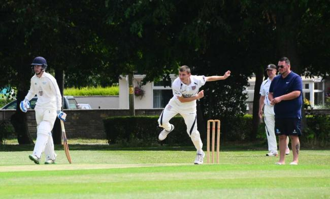 TON: Jack Luff was on form with bat and ball on Saturday. Pic: Steve Richardson