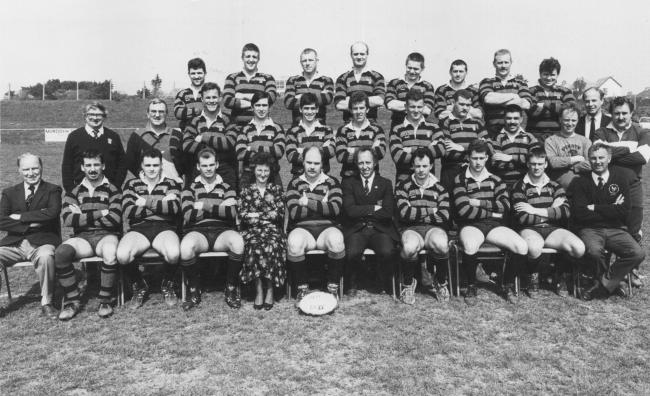 This week's photograph is of Penryn RFC, taken in 1991