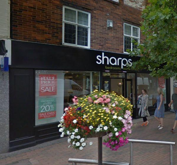 INCIDENT: Sharps Bedrooms where Butcher committed one of the offences