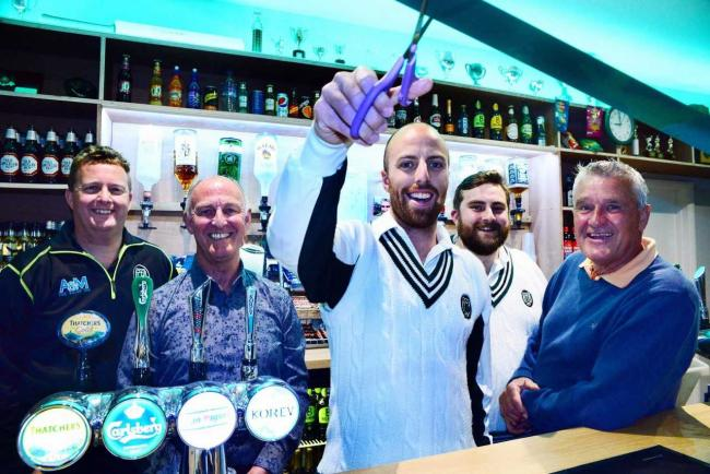 LOCAL HERO: Jack Leach was back at Taunton Deane, and helped them stay in top spot.
