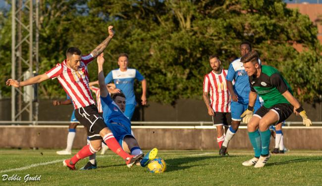 HELD: It was a night of frustration for Bridgwater Town at Fairfax Park. Pic: Debbie Gould