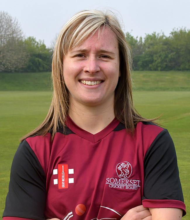 CONFIDENT: Sophie Luff has changed her Somerset garb for Western Storm's as she targets Kia Super League success