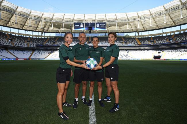 Referees Training Session – Besiktas Park