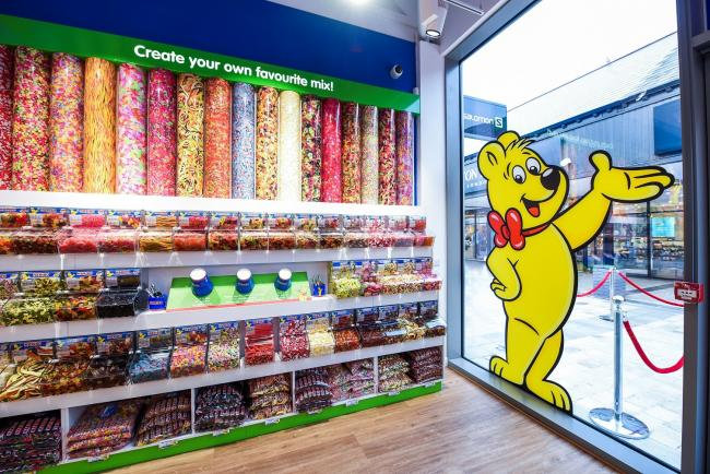 PICK YOUR FAVOURITES: At the new Haribo store at Clarks Village, in Street