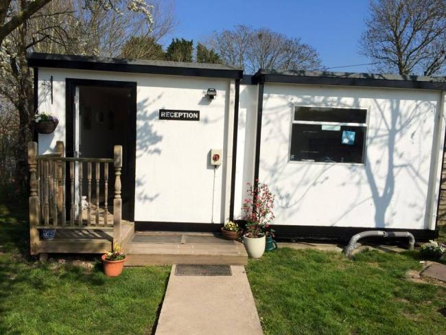 PORTABLE BUILDINGS: The veterinary facility at St Giles