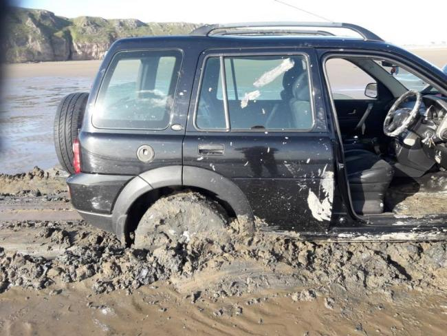 MUDDY: One of three incidents dealt with by BARB