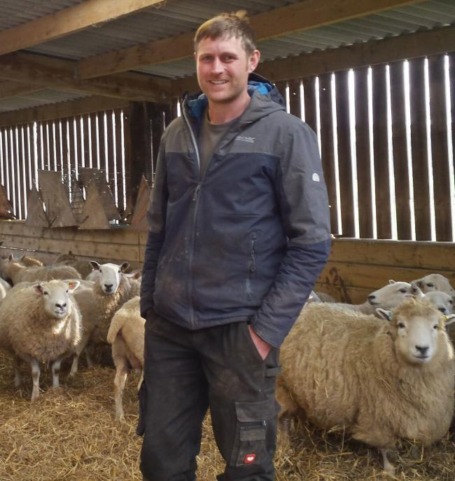 APPEAL: Exmoor Hill Farming Network chairman Dave Knight