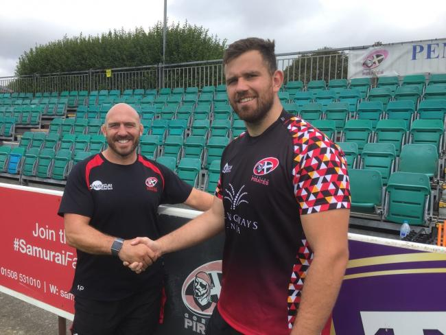 Will Norton has joined the Cornish Pirates on a dual-registration deal. Picture by Phil Westren