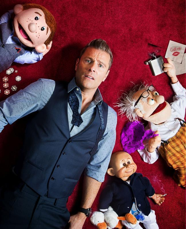 Paul Zerdin returns to Cornwall for a show at Redruth's Regal Theatre