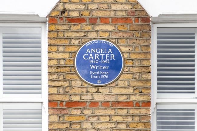 Angela Carter blue plaque