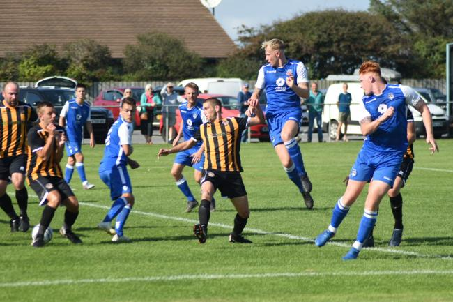 Helston Athletic made it through to the first round proper of the FA Vase on Saturday