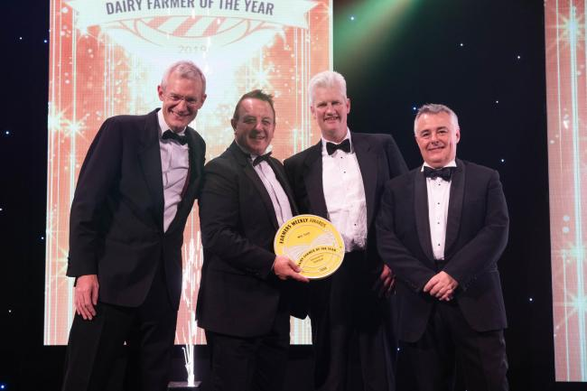 WINNER: Will Frost at the Farmers Weekly Awards 2019, at Grosvenor House Hotel, London. PICTURE: Telling Photography