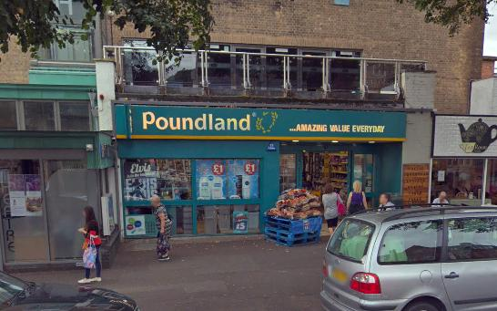 SHOP-IN-A-SHOP: Poundland in Minehead features a branch of PEP&CO inside. PICTURE: Google Street View