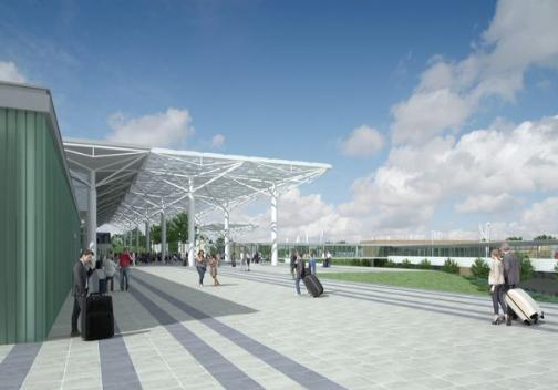 PLANS: How Bristol Airport could look as part of its planning application for expansion. PIC: Bristol Airport