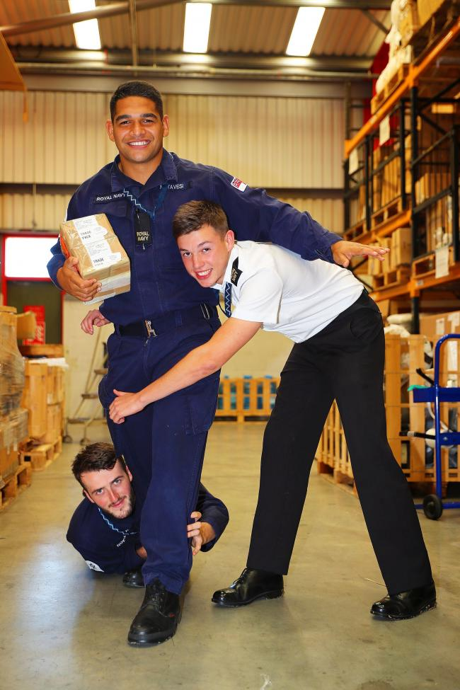 Sam Matavesi at RNAS Culdrose before heading out to the World Cup in Japan. Picture by David Gallagher