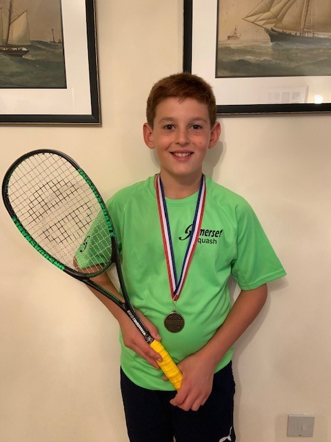 SQUASH: Theo Lamey, James Rew and Thomas Rew succeed in county and regional events - This is The West Country