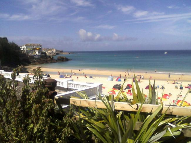 Porthminster Beach. PIcture by Wikipedia