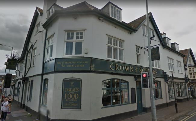 PLANS: The Crown and Sceptre, in Taunton