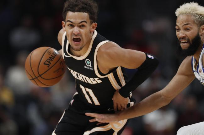Atlanta Hawks guard Trae Young