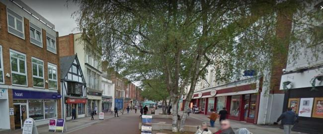 ASSAULT: The attack happened in High Street, Taunton