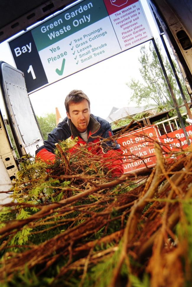 BUSY NEW YEAR: Hudreds of tonnes of extra waste and recycling materials will be collected in January