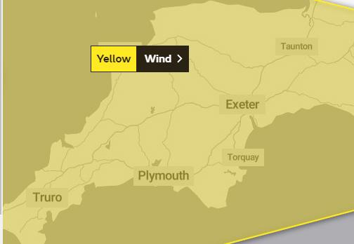 WARNINGS: Were issued by the Met Office for the weekend