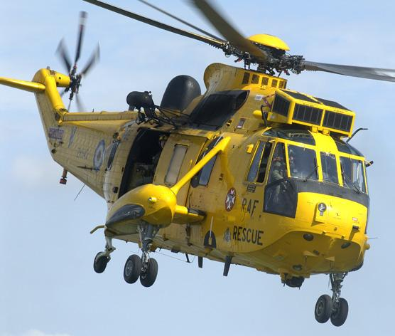A Sea King helicopter crew from Barnstaple-based RMB Chivenor recovered the missing man's body from the River Exe