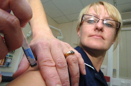 Fire advice and flu jabs for Burnham pensioners