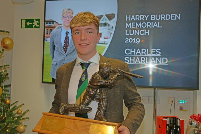 Charlie Sharland, Harry Burden Young Cricketer of the Year