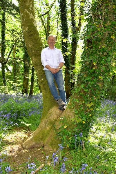 Tony Russell, who will deliver the Cornwall Garden Society January Lecture