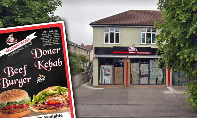 REVIEW: Of Sam's Fried Chicken, in Weston super Mare. PICTURE: Google Street View