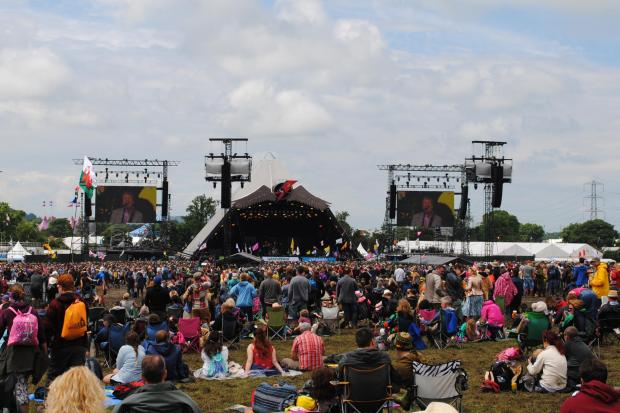 OPPORTUNITY: You could be performing at the 2020 Glastonbury Festival. PICTURE: Paul Jones