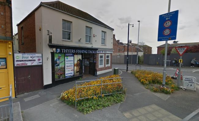 APPEAL: Police are appealing for information after a burglary at Thyers Fishing Tackle in Highbridge. Picture- Google