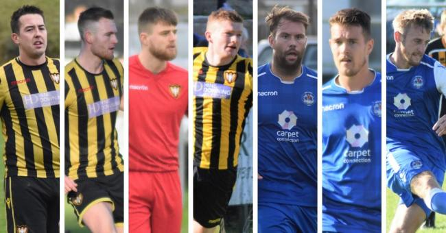 Falmouth Town and Helston Athletic each have three players included