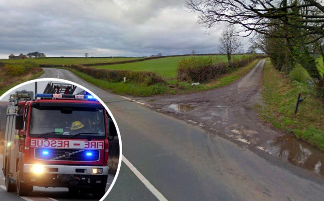 SCENE: The crash happened in Ubley Drive, near Cheddar. PICTURE: Google Street View