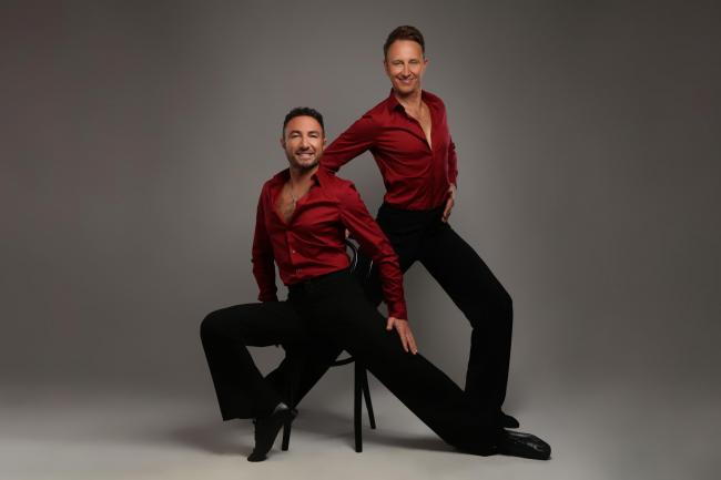Ian Waite and Vincent Simone, The Ballroom Boys