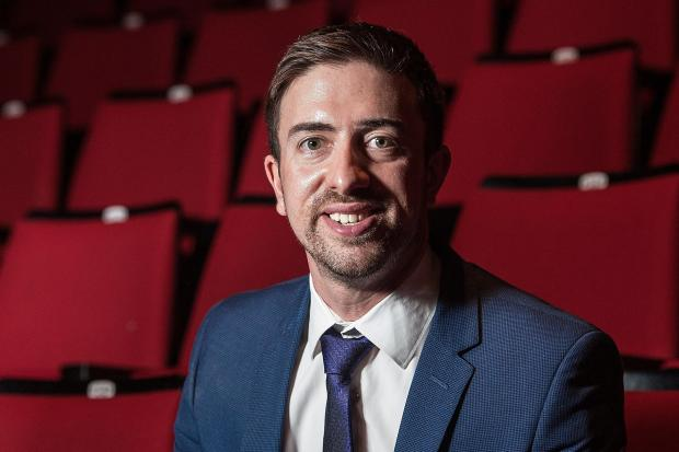 Adam Burgan, venues manager at Westlands and The Octagon in Yeovil