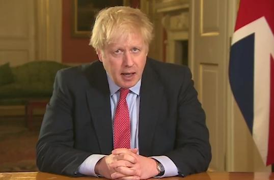 Boris Johnson announces lockdown measures