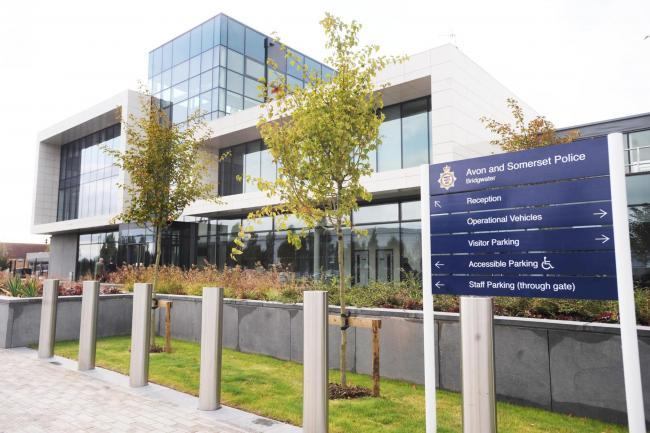 OPEN: Bridgwater Police Centre is just one of four police centres which remains open